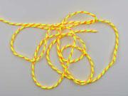 geflochtene Kordel 4 mm neongelb-neonpink