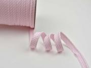 Paspelband Streifen, rosa
