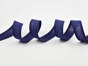 Schrägband 100% Baumwolle, marine