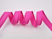 Schrägband 100% Baumwolle vorgefalzt uni, pink