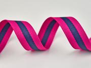 Gurtband Streifen 3 cm, pink dunkelblau pink