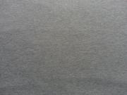 RESTSTÜCK 40 cm Sweat angeraut - Mittelgrau Melange