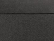 RESTSTÜCK 44 cm Sweat Stoff Alpenfleece, anthrazit melange