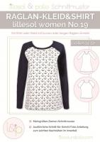 Lillesol Woman No. 19 Raglan-Kleid&Shirt Schnittmuster