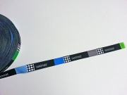 Blaubeerstern Handmade Rectangles 15mm, Blautöne