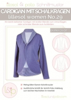 lillesol women No.29 Cardigan Schnittmuster