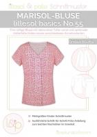 lillesol basics No.55 Marisol-Bluse Schnittmuster