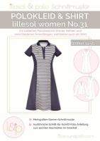 Papierschnittmuster lillesol women No.31 Polokleid