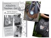 AllesDrin-Taschen-Set Schnittmuster