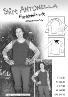 Antonella Shirt Schnittmuster
