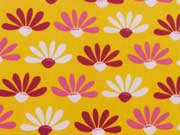BW Camomille, pink auf gelb