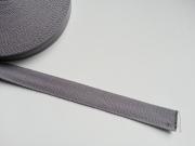 Gurtband - 2,5cm breit, grau