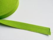 Gurtband Baumwolle 2,5 cm breit, lime #16