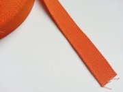 Gurtband - 2,5cm breit, orange #83