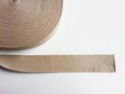Gurtband Baumwolle 4 cm breit, dunkelbeige 41