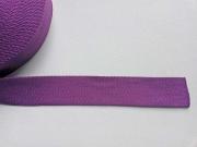 Gurtband Baumwolle 4 cm breit, lila 89