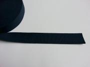 Gurtband Baumwolle 4 cm breit, dunkelblau #23