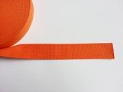 Gurtband Baumwolle 4 cm breit, orange #83