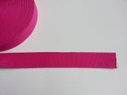 Gurtband Baumwolle 4 cm breit, pink #74