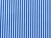 BW Mini Streifen, königsblau/weiß