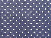 BW Punkte 0,2 cm breit - navy/weiß