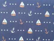 BW Seaside Anchor & Ship Hilco, dunkelblau