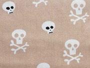Totenköpfe/Skulls, beige