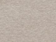 RESTSTÜCK 18 cm glattes Bündchen - beige meliert
