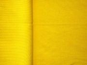 RESTSTÜCK 10 cm Bündchen, Feinripp - gelb
