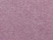 RESTSTÜCK 20 cm glattes Bündchen - himbeer (pink) meliert
