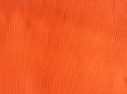 RESTSTÜCK 13 cm Bündchen , Feinripp - orange