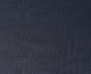 RESTSTÜCK 20 cm Bündchen, Feinripp - schwarz