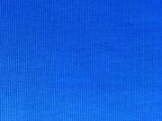 Bündchen, Feinripp - royalblau