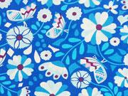 Jolijou Butter Bloom Blumen&Schmetterlinge, blau