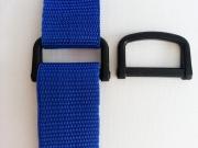 2 D-Ringe, 3 cm breit