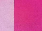 RESTSTÜCK 80cm Doubleface Micro-Polar Fleece - pink/rosa