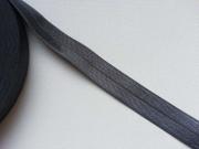 elastisches Falzband, 18 mm, dunkelgrau