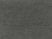 Feincord Stoff Babycord uni, schiefergrau