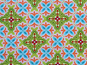 RESTSTÜCK 79 cm Baumwolle Julia Mandala Muster  - hellgrün