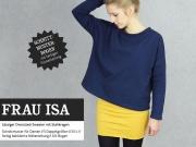 Schnittmuster Oversized Shirt Frau Isa Studio Schnittreif