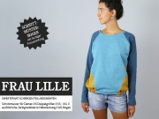 Frau Lille Sweater m. Teilungsnähten Schnittmuster