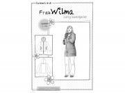 Schnittmuster Long Sweatjacke Frau Wilma Farbenmix