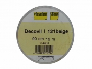 Decovil I aufbügelbare Einlage Freudenberg, beige