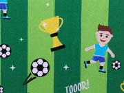 RESTSTÜCK 47cm Boyhood Fußball Jersey Hilco grün