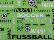 Crossing Typo Fußball Jersey Hilco - grün