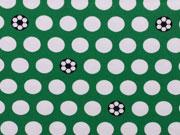 Sporty Dots Fußball Jersey  Hilco - grün/weiß