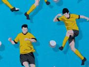 Jersey Fußball Kick it Hilco, türkis