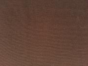 RESTSTÜCK 16 cm glattes Bündchen uni - dunkelbraun