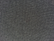 RESTSTÜCK 15 cm glattes Bündchen uni - anthracite