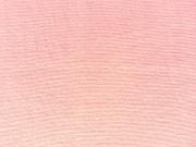 glattes Bündchen uni - rosa